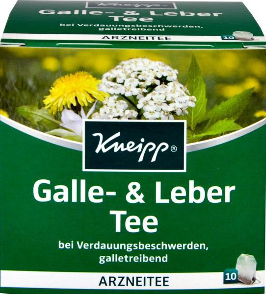 Kneipp Tee Leber und Galle