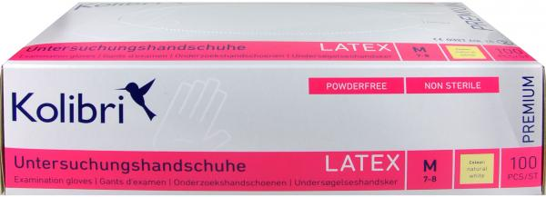 Kolibri Premium Latex Handschuh M