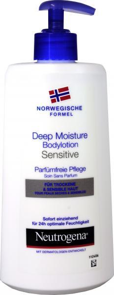 Neutrogena Bodylotion Sensitive Haut