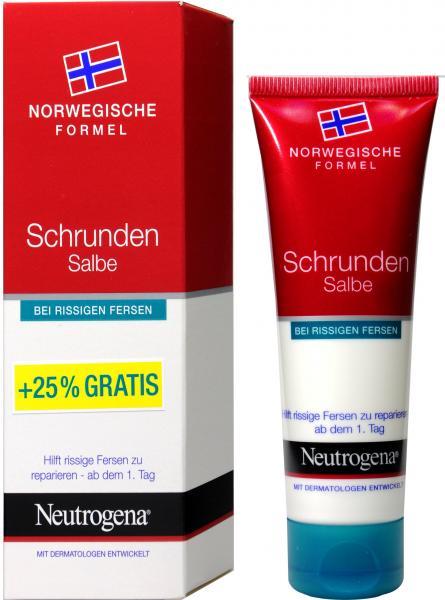 Neutrogena Schrundensalbe bei Rissiger Haut