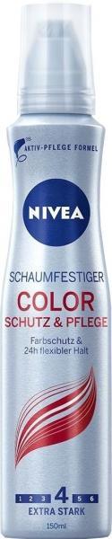 Nivea Haarstyling Schaumfestiger Color Schutz