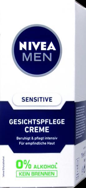 Nivea Men Gesichtspflege Creme Sensitiv