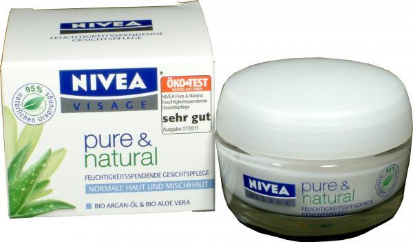 Nivea Pure Feuchtigkeitspflege