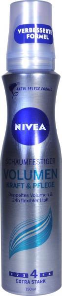 !Nivea Schaumfestiger Volumen Kraft und Pflege
