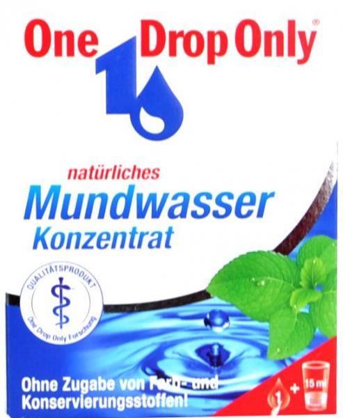 One Drop Only Medizinisches Mundwasser
