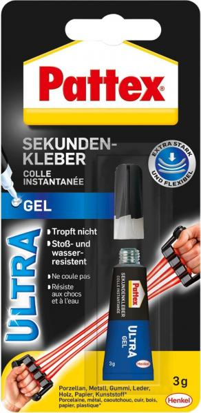 Pattex Sekundenkleber Ultra Gel