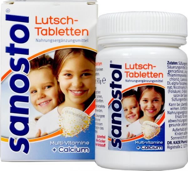 Sanostol Lutsch-Tabletten
