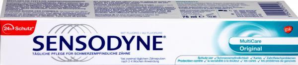 Sensodyne Zahncreme Multicare Original
