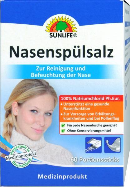 Sunlife Nasenspülsalz