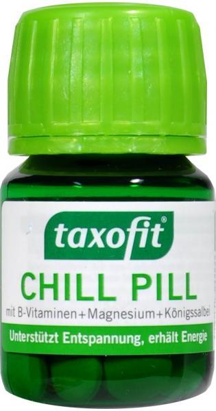 Taxofit Chill Pill mit B-Vitaminen + Magnesium + Königssalbe
