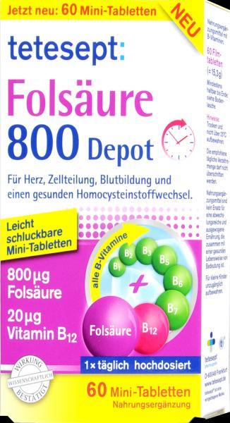 Tetesept Folsäure 800 Depot
