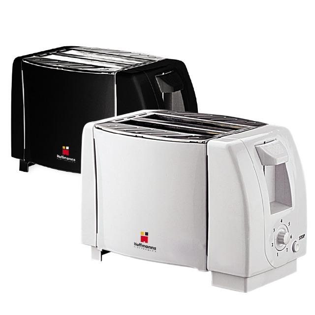 Toaster Weiss-Schwarz  750 Watt Aktionsangebot