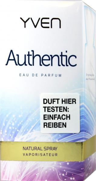 Yven Eau de Parfum Damen Authentic
