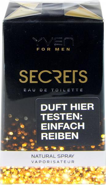 Yven Eau de Toilette Men Secrets