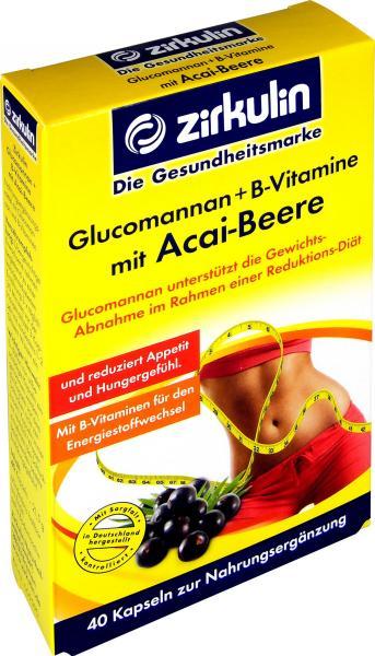 Zirkulin Glucomannan B-Vitamine