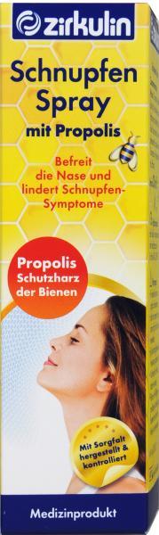 Zirkulin Schnupfen Spray mit Propolis