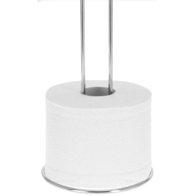 28-016325, Toilettenrollenhalter, Metall verchromt,. 60 cm hoch