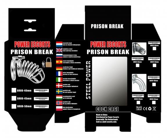 "Power Escorts ""Prison Break"" 50 mm"