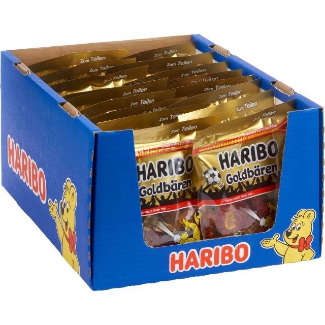 28-307717, Haribo Goldbären 250g, wiederverschließbarer Beutel