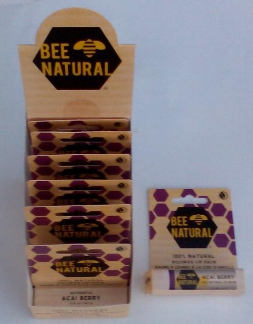 12-8003129, Bee  Natural Lippenbalm  Acai Berry