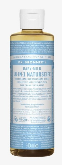 12-810323, Dr.Bronners.  18in1 Seife 240ml    UVP  9,98€
