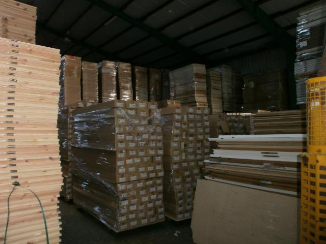 800 Türen und 800 Zargen aus Lagerauflösung je 9,50 €!
