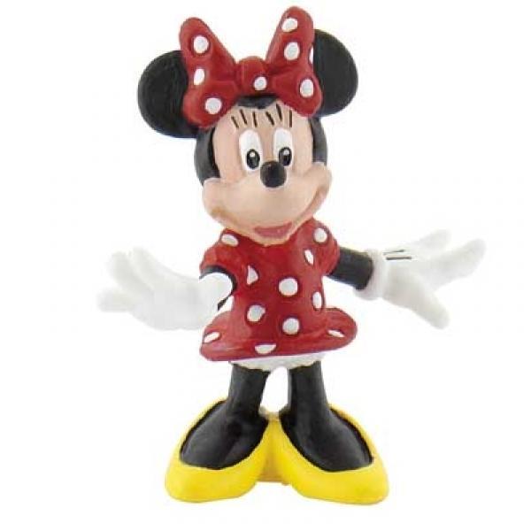 DISNEY Bullyland Minnie Mouse stehend ca 5cm