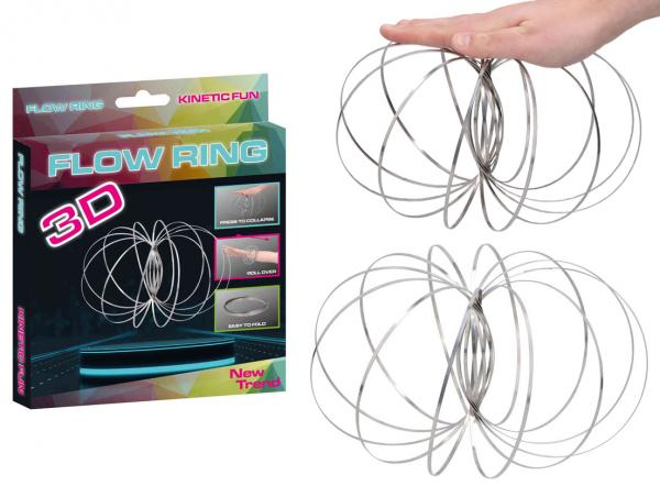 Flow Ring Arm Spinner Kinetic Fun 3D - ca 13 cm