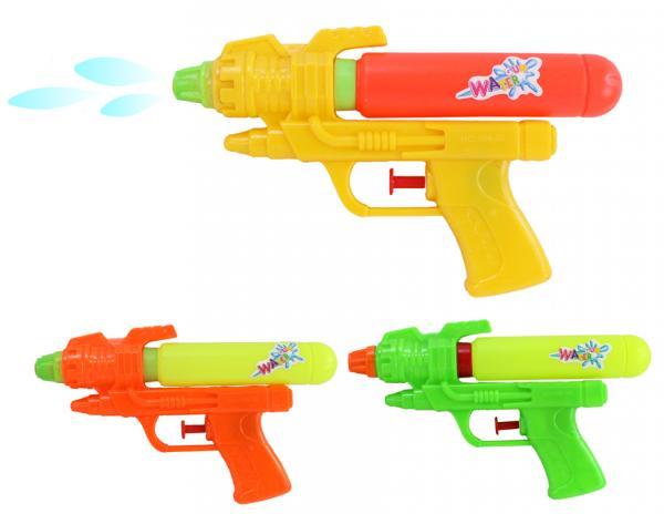 Wasserpistole 3-fach sortiert ca 18,5 cm
