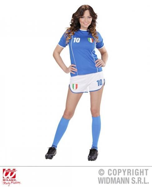 FUSSBALLSPIELERIN ITALIEN (T-Shirt, Shorts)