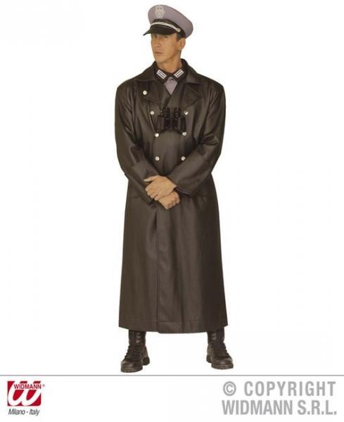 GENERALSMANTEL (Mantel aus Kunstleder)
