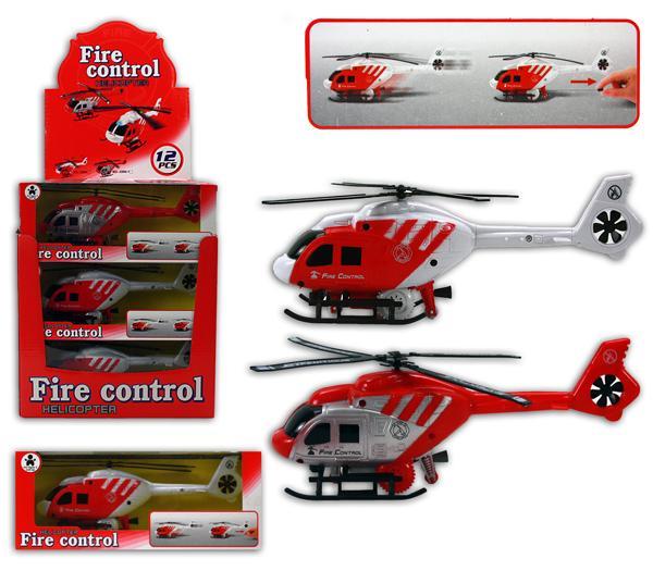 Hubschrauber - Helikopter - aufziehbar in Box ca 25x8x10cm