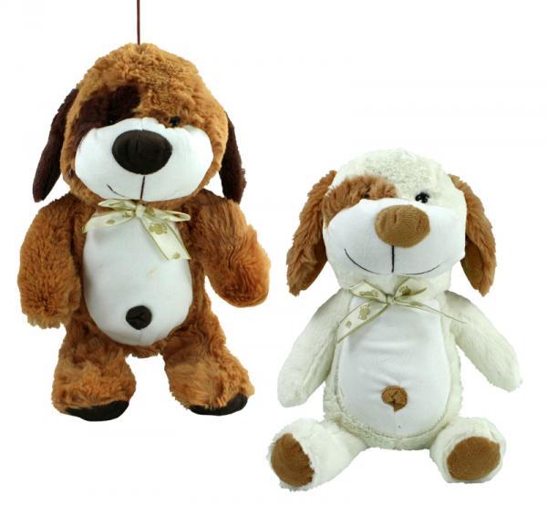 Hund 2-fach sortiert mit Schlenkerbeinen - ca 30/37 cm