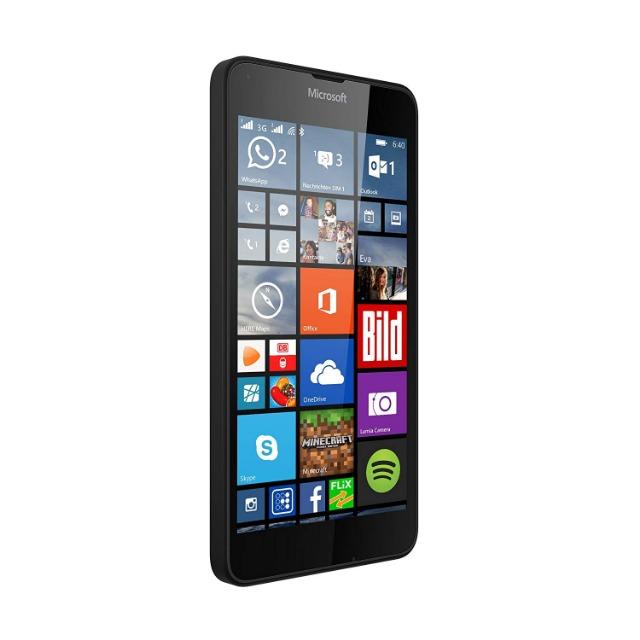 Microsoft Lumia 640 Dual-SIM Smartphone (5 Zoll (12,7 cm) Touch-Display, 8 GB Speicher, Windows 10) Diverse Farben