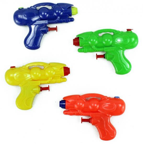 Wasserpistole 4 farbig sortiert ca 11,5 cm