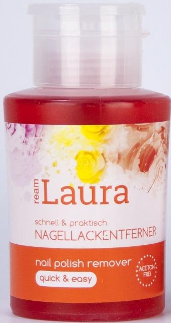 12-586813, Laura Nagellackentferner acetonfrei + Aceton  200 ml klar