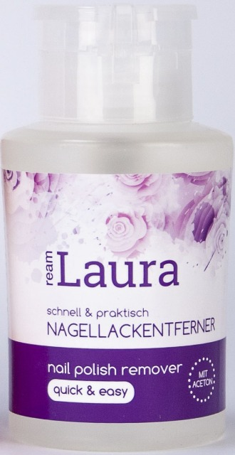12-81275, Nagellackentferner mit Aceton 200 ml  rosa