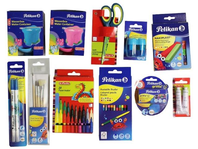 12-990319942, Pelikan/Herlitz Schreibwarensortiment  REWE SONDERPOSTEN