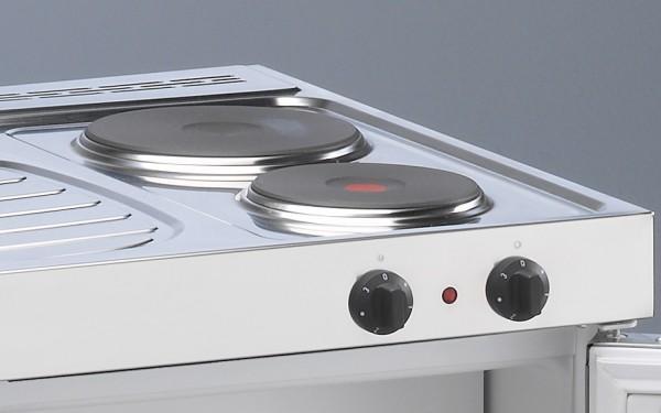 Miniküche Mit Kochfeld Und Kühlschrank : MinikÜche mkm kühlschrank e kochfeld links spüle rechts