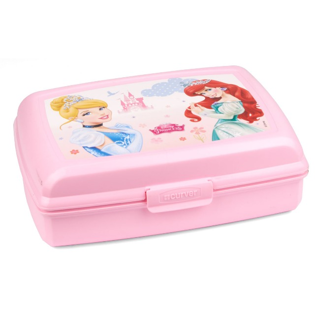 28-274586, Disney Princess Lunchbox, Brotbüchse, Butterbrotdose, ideal für Schule, Kindergarten, usw