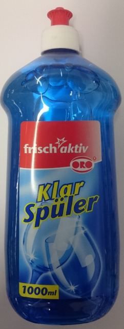 12-9051418, Klarspüler Frisch Aktiv  1L  (Spülmaschine)