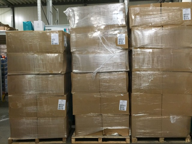 Adult Diapers in Cartons