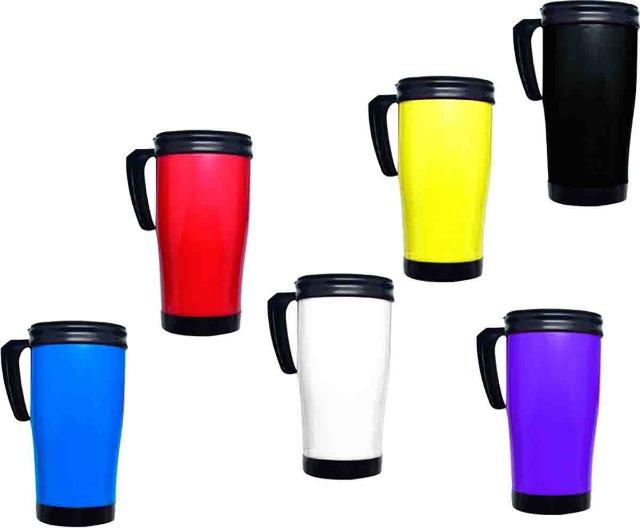 Reisebecher Thermobecher Coffe To Go Kaffee Becher 450 ml Color Design