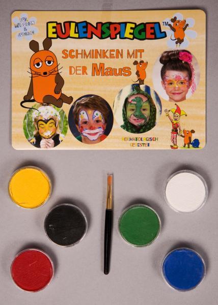 """""""Aqua-Palette """"""""Schminken mit der Maus"""""""", 6 Farben, Pinsel,"""