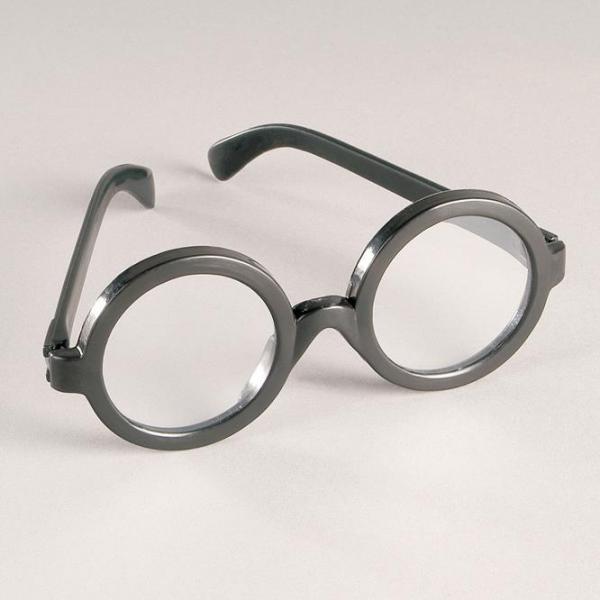 Brillengestell, schwarz