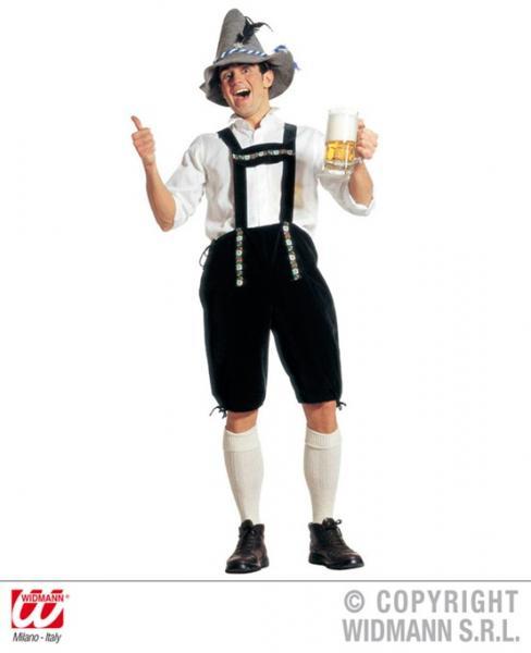 Kostüm Lederhose Bayern Oktoberfest Größe M