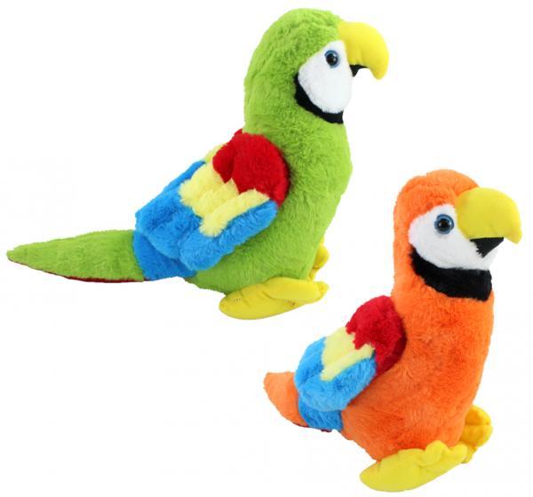 Papagei 2-fach sortiert  ca 39cm lang