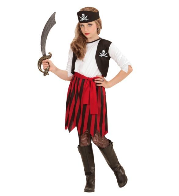 Piratin Kinder Kostüm Pirate Girl für Karneval / Fasching