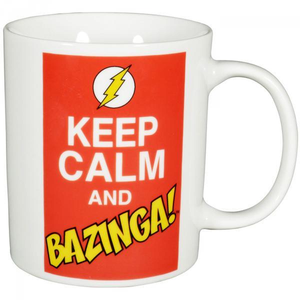 The Big Bang Theory - Kaffeetasse 'Keep Calm and Bazinga'