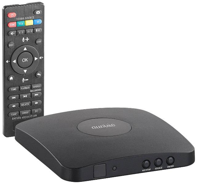 Auvisio Game Capture V5 HDMI-Video-Rekorder mit Media-Player, Full-HD-Aufnahme auf USB & PC
